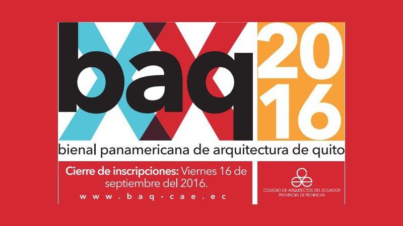 bienal panamericana de arquitectura de quito (baq) | CAd2