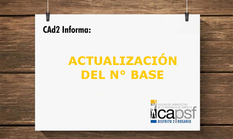 re-determinaciÓn del factor de aplicaciÓn del nÚmero base | CAd2