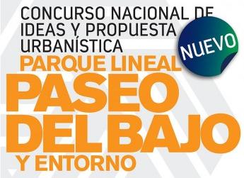 concurso nacional de ideas y propuesta urbanÍstica parque lineal paseo del bajo y entorno | CAd2