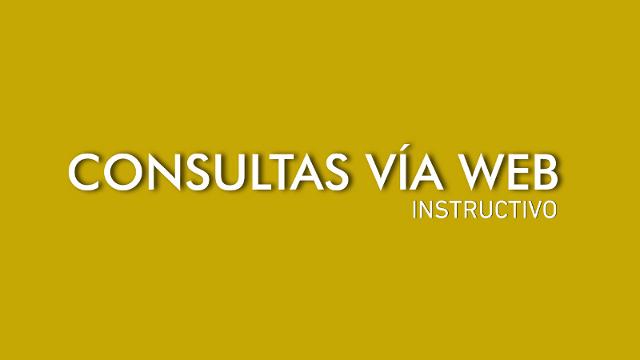 consultas vÍa web | CAd2