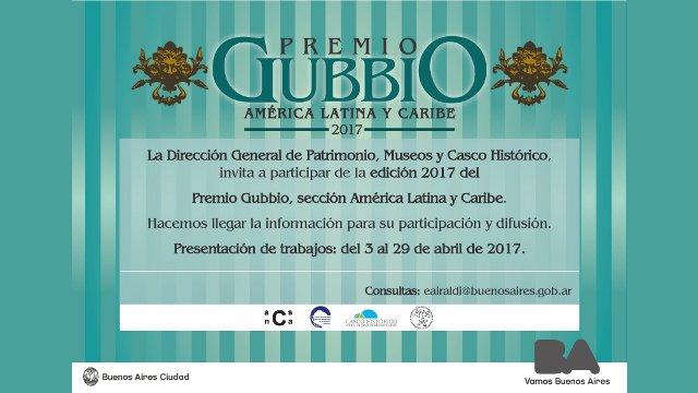 premio gubbio, convocatoria 2017   CAd2