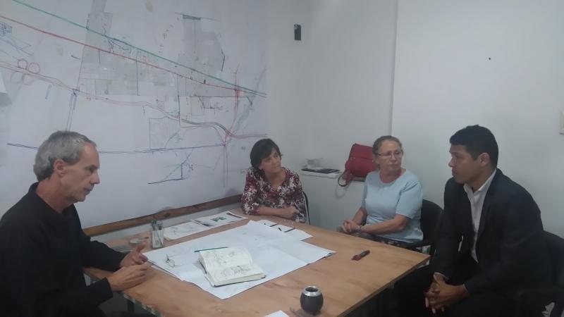 autoridades del cad2 se reunieron con el nuevo secretario de planeamiento de funes. | CAd2