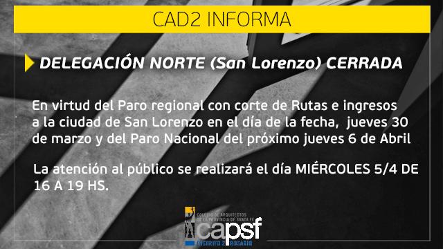 atenciÓn delegaciÓn san lorenzo | CAd2
