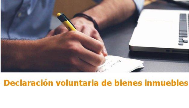 declaraciÓn voluntaria de bienes inmuebles   CAd2