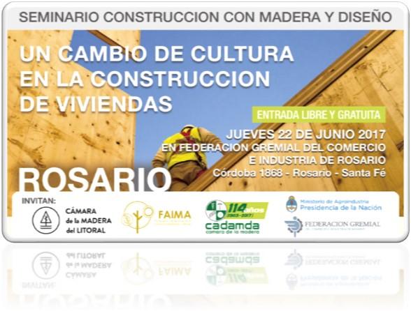 seminario de construcciÓn con madera y diseÑo en rosario   CAd2