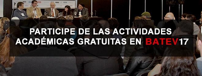batev17 -  actividades academicas gratuitas   CAd2