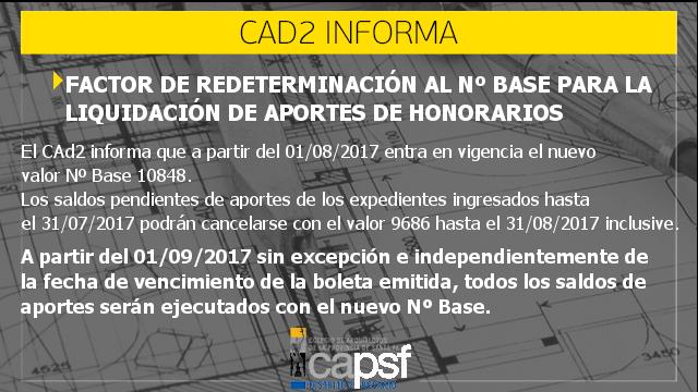 nuevo nº base | CAd2