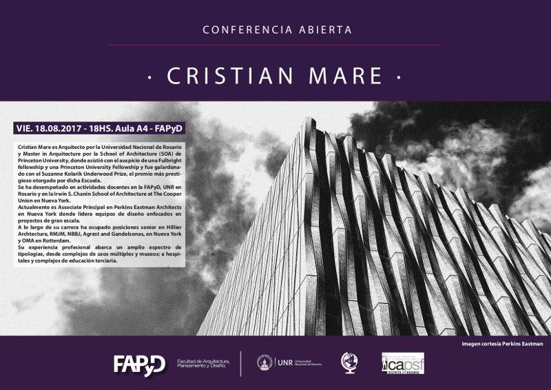 conferencia abierta - cristian mare | CAd2