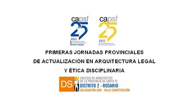 arquitectura legal y Ética disciplinaria en villa constituciÓn | CAd2