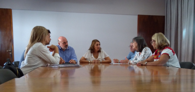 autoridades del cad2 se reunieron con la intendente  de rosario mónica fein | CAd2