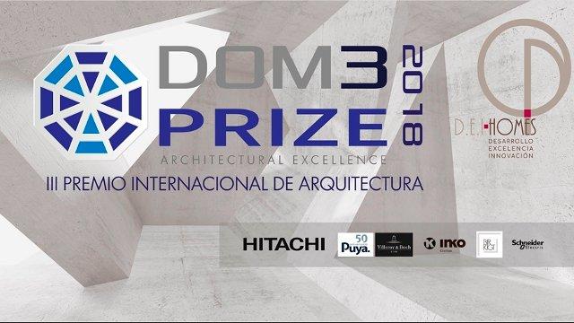 premio internacional de arquitectura dom3 prize 2018-iii | CAd2
