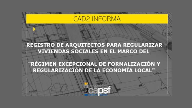 registro de arquitectos para regularizar viviendas sociales   CAd2