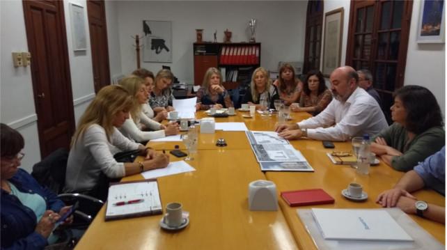 reuniÓn sobre proyectos urbanos de reconversiÓn que transformaran distintos sectores de la ciudad de rosario | CAd2