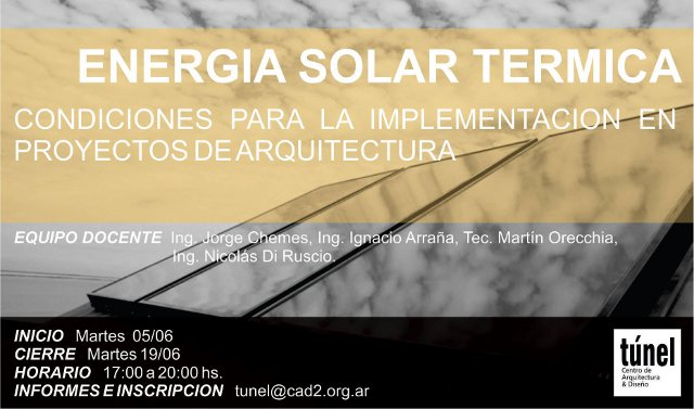 energía solar térmica | CAd2