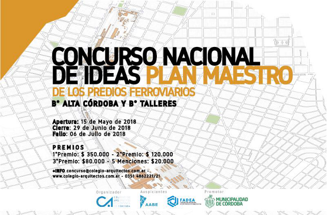 plan maestro predios ferroviarios barrio alta cÓrdoba y barrio talleres ciudad de cÓrdoba   CAd2