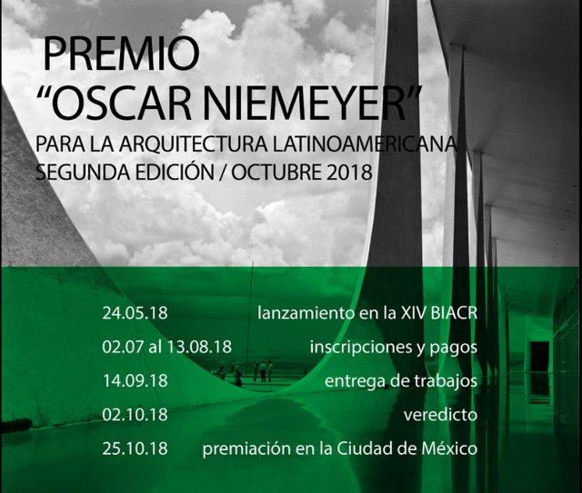 ii premio oscar niemeyer para la arquitectura latinoamericana abre sus postulaciones | CAd2