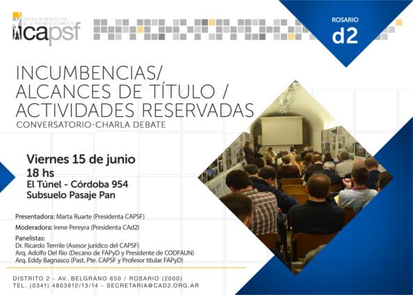 conversatorio- charla debate | CAd2