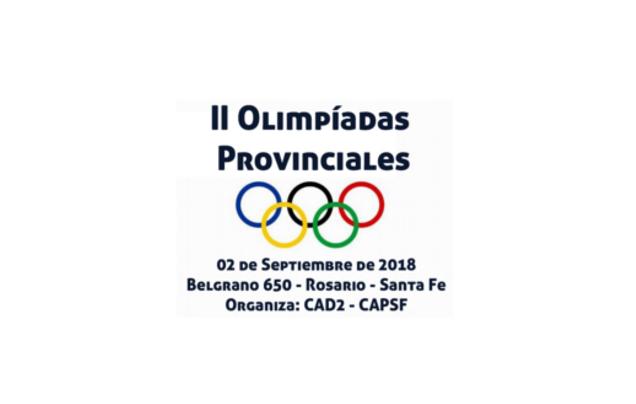 2ª olimpiadas provinciales | CAd2