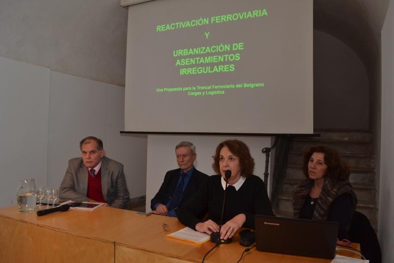 reactivaciÓn ferroviaria y urbanizaciÓn de asentamientos irregulares | CAd2