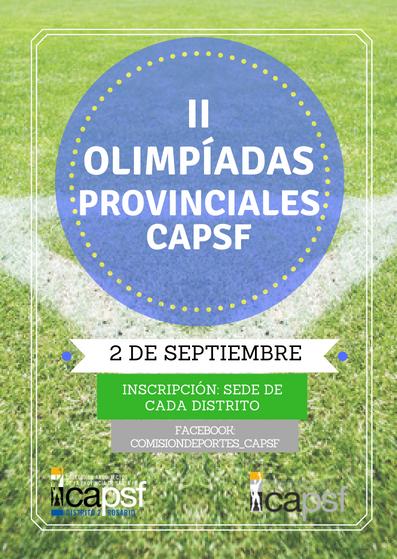 olimpiadas provinciales | CAd2
