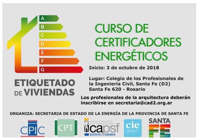 segundo curso de certificadores energéticos 2018. | CAd2
