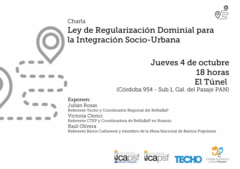 charla ley de regularización dominial para la integración socio urbana | CAd2