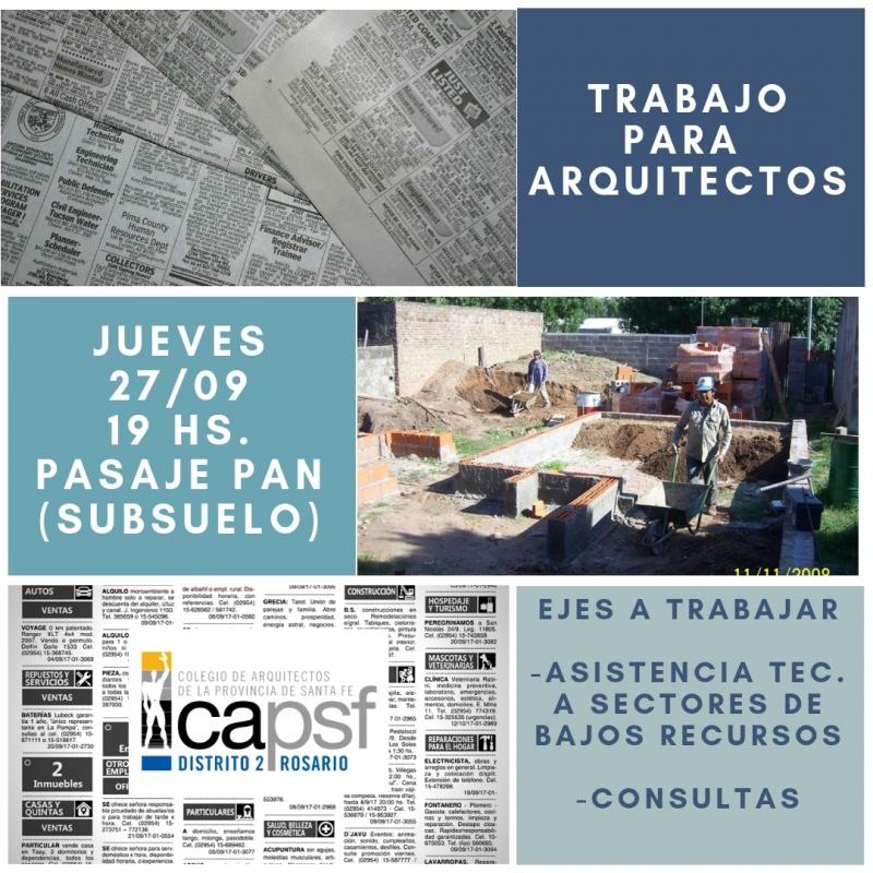 nueva convocatoria jornada arquitectos para la comunidad | CAd2