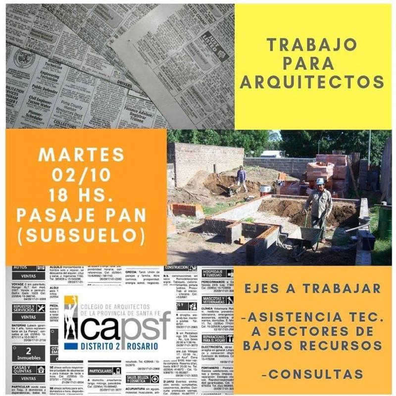 nueva convocatoria arquitectos para la comunidad | CAd2