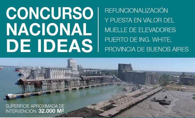 concurso nacional de ideas para la refuncionalización y puesta en valor del muelle de elevadores puerto de ing. white, provincia de buenos aires | CAd2