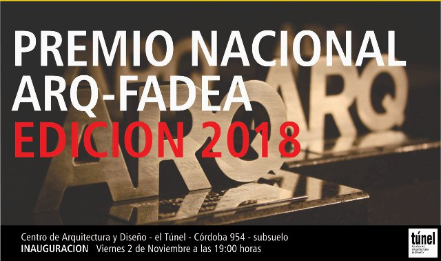 premio nacional arq-fadea | CAd2