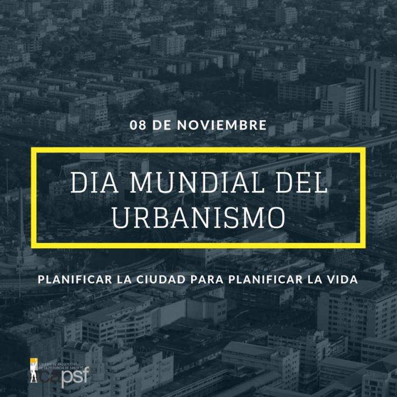 8 de noviembre: día mundial del urbanismo | CAd2