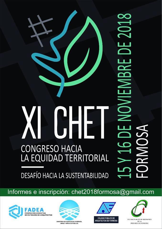 chet: xi ediciÓn del congreso hacia la equidad territorial | CAd2