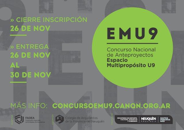 concurso nacional de anteproyectos espacio multipropÓsito u9 | CAd2