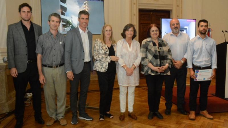 se entregaron los premios del concurso nacional de anteproyectos calle  salta 2141 | CAd2