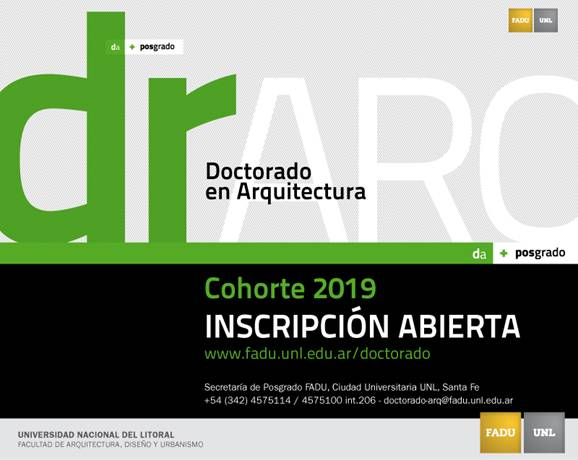 doctorado en arquitectura fadu -unl | CAd2