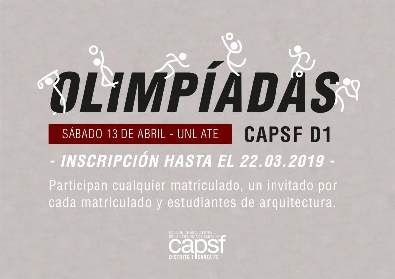 olimpíadas capsf 2019 | CAd2