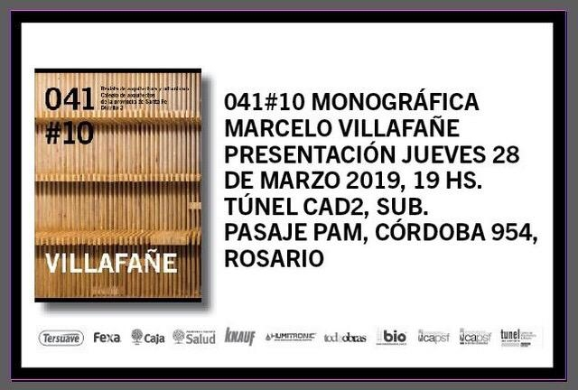 presentación  041 #10 - monográfica marcelo villafañe | CAd2