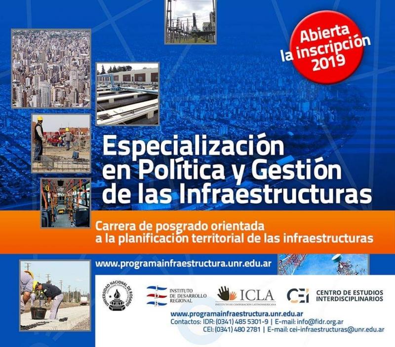 carrera de especialización en política y gestión de las infraestructuras -2º cohorte | CAd2