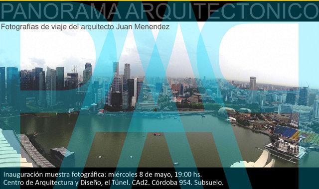 panorama arquitectónico - arq. juan menendez | CAd2
