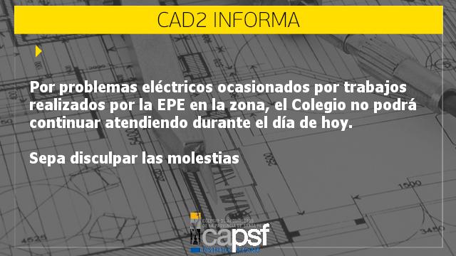 sin atención en el colegio de arquitectos   CAd2