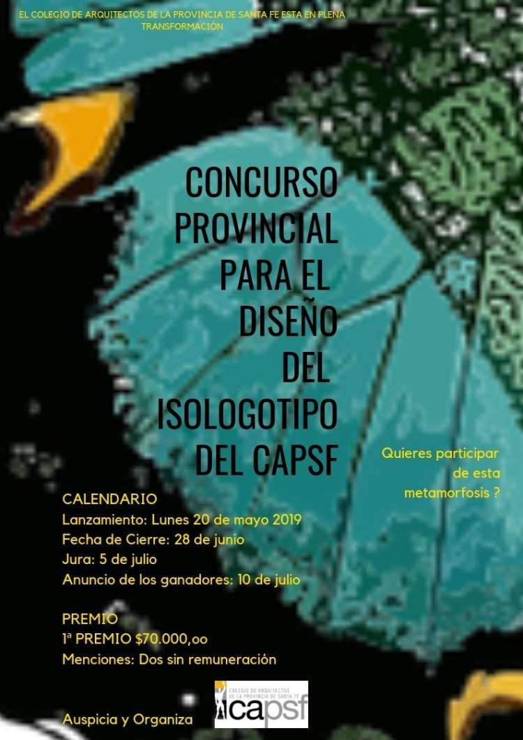 lanzamiento del concurso provincial para el diseÑo del isologotipo del colegio de arquitectos de la provincia de santa fe   CAd2
