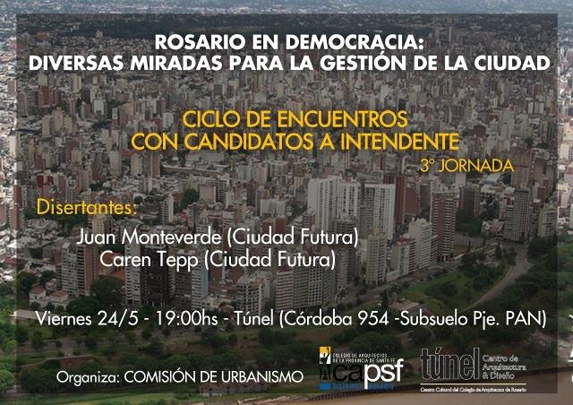rosario en democracia: diferentes miradas para la gestión de la ciudad | CAd2