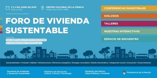 foro de vivienda sustentable en el centro cultural de la ciencia | CAd2
