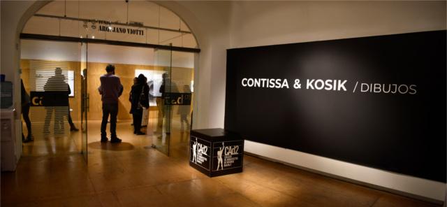 inauguraciÓn muestra  contissa & kosik / dibujos | CAd2