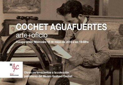 muestra cochet aguafuertes - arte+oficio | CAd2